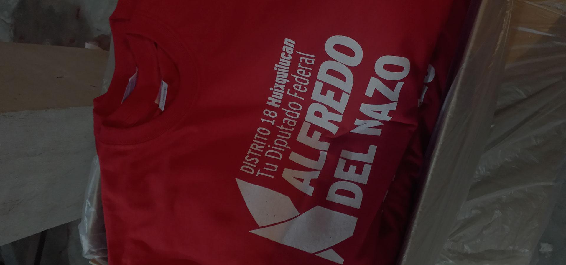 Impresión de playeras de campañas politicas en Querétaro fd5c4caf929c6